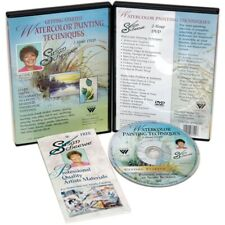 Susan Scheewe Watercolor Painting Techniques Dvd-
