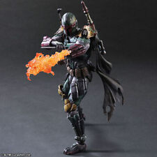 Play Arts Kai Star Wars PA Variant Boba Fett Action Figure Toy Doll Model Gift