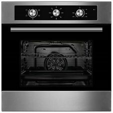 Cookology COF600SS 60cm Stainless Steel Built-in Single Electric Fan Oven, Timer