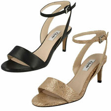 Strappy, Ankle Straps 100% Leather Formal Heels for Women