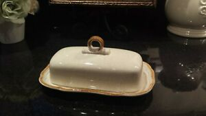 Vintage Mikasa Stoneware | Covered Butter Dish | EC400 / EB800 | Made in Japan