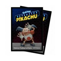 POKEMON DETECTIVE PIKACHU Mr Mime 65ct Card Sleeves Deck Protectors Ultra Pro