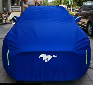 Car Cover Body Dustproof Waterproof Sun UV Protection Shield for Ford Mustang