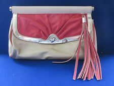 BNWOT DOROTHY PERKINS CLUTCH BAG NUDE/GOLD/PINK
