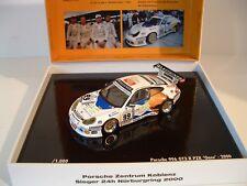 Minichamps 1:43 Porsche 911 GT3R #99 Oase Team PZK 24h Sieger Nurburgring 2000