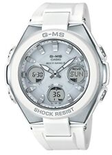 CASIO BABY-G G-MS Solar Radio Women's Watch MSG-W100-7AJF White office sports