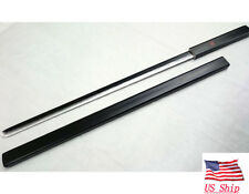 "US STOCK 39"" Anime Naruto Sasuke Shirasaya Katana Samurai Sword Weapon Black"