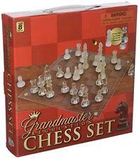 """Rhode Island Novelty 10"""" de cristal juego de ajedrez nuevo libre envío"""