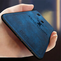 For Xiaomi Redmi Note 8T 8 7 6 5 ProDeer Pattern Cloth Silicone Matte Case Cover