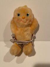 Vintage 1985 Kenner Hugga Bunch Soft Plush Baby Doll Patooty Blue Eyes