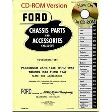1928 - 1948 Ford Car & Truck Master Parts List Cd