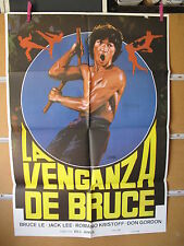 A804  LA VENGANZA DE BRUCE. BRUCE LE, JACK LEE, ROMANO KRISTOFF