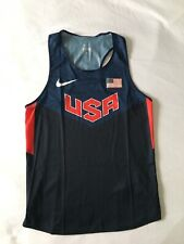 Nike Pro Elite Mens Sponsored Singlet USA Size Small
