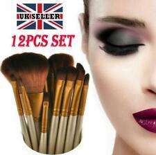 12pcs Kabuki Professional Make up Brushes Set Makeup Foundation Blusher Powder