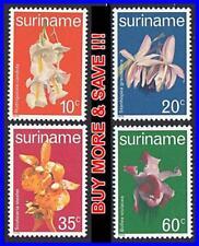 SURINAM 1977 troical ORCHIDS / FLOWERS MNH
