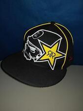 Mens Rockstar Metal Mulisha fitted hat  7  3/8 VG