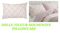 LAURA ASHLEY MILLE FLEUR FLORAL PILLOW COVER PILLOWCASE  PINK LUXURY HOUSEWIFE
