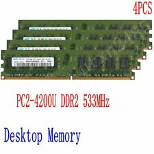 For Samsung 8GB 4x 2GB 2Rx8 DDR2 533MHz PC2-4200U 240pin Desktop Memory DIMM RAM