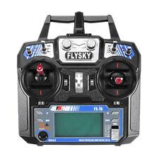 FS-i6 Flysky AFHDS 2A 6 Channel Radio Transmitter Receiver For RC Quadcopter
