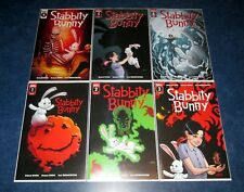 STABBITY BUNNY 1 2 3 4 5 6 1st print set SCOUT comics 2018 RICHARD RIVERA NM lot