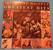 MOTT THE HOOPLE GREATEST HITS LP 1976 ORIGINAL PRESS GREAT COND! VG+/VG+!!C