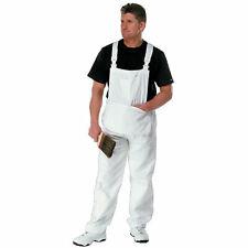 Rodo Size 44 XXL Professional Cotton Drill White Bib & Brace Painters Overalls