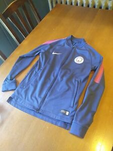 Boys Manchester City Training Tracksuit top
