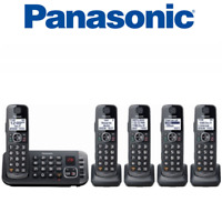 Panasonic KX-TGE645M DECT 6.0 Expandable 5 handsets Cordless Phone Answering