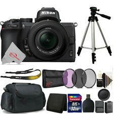 Nikon Z50 Mirrorless Digital Camera with 16-50mm Lens + 32GB Accessory Kit