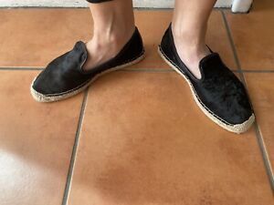 Gorgeous COUNTRY ROAD EU 38 AU 7 Black Leather Slip On Shoes SO COMFY!