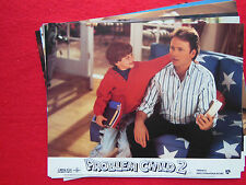 RARE VINTAGE 10x8 UK FOH LOBBY CARD STILL SET(x8) - PROBLEM CHILD 2 -JOHN RITTER