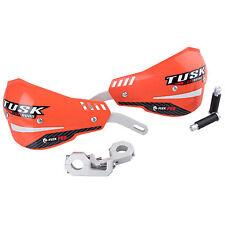 "Tusk D-Flex Pro Handguards Orange 1 1/8"" Bars-Enduro,Dual Sport,KTM,EXC,MXC,"
