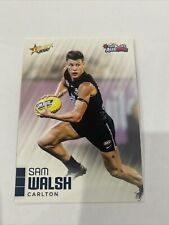 2020 Afl Select Auskick Base Card Sam Walsh Carlton