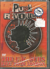 THE U.K. SUBS Live from London 20TRX 1985 VIDEO DVD SEALED uk USA Seller NTSC