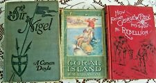 Sir Nigel The Coral Island  How Pvt.Peck Put Down The Rebellion  Early 1900s BKS