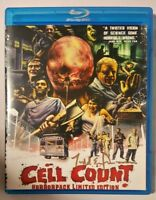Cell Count Limited Edition  (DVD, 2012) Signed on the front by Director RARE!!