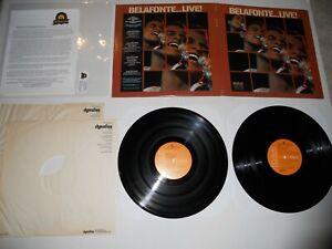 Harry Belafonte Live! '72 RCA Analog EXC 1st ULTRASONIC Clean