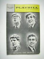Beyond the Fringe Playbill 1963 Golden Theatre Dudley Moore Peter Cook Bennett