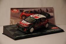 VOITURE RALLYE MONTE CARLO 2017 CITROEN C3 WRC S.LEFEBVRE/G.MOREAU 1/43  IXO