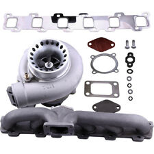 Turbo Turbocharger + Exhaust Manifold Kit For Nissan Patrol 4.2L TD42 GQ Y60 Y61