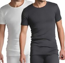 Mens Thermal Warm Long Johns Short Sleeve T-Shirts Winter Underwear