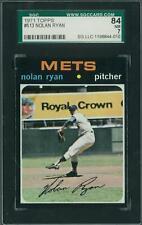 1971 Topps Baseball  #513 Nolan Ryan SGC 84 (NM) *4010 (Reed Buy)