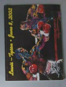 2002 - Lennox Lewis v Mike Tyson, World Heavyweight Title Programme