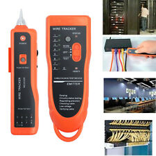 Telephone Lan Network Tester Tracker Cable Wire Finder Tracer Toner Test RJ45/11