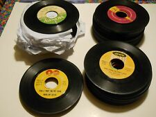 Huge Lot of Vintage 45 RPM Records- total of 131 Classics