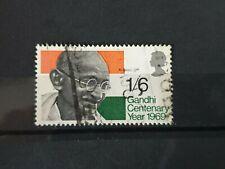 Great Britain 1969 Gandhi Centenary Year. 1 stamp set used