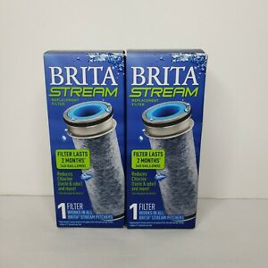 (2) Brita Stream Replacement Filters~ New in Box