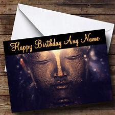 Bouddha Personnalisé Anniversaire Carte de vœux