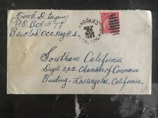 1925 Bacolod Philippines US Occupation Cover To Camber Of Commerce Los Angeles