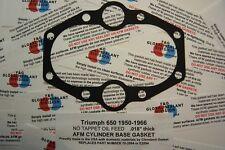 Triumph 650 Pre Unit cylinder base Gasket 70-2894 ALUMINUM CORE 6T T110 TR6 T120